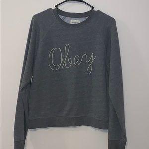 Obey Jackets & Coats - Obey crewneck